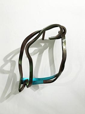双アーティスト展、今回は松崎昭彦と山田恵子の作品のご紹介です。